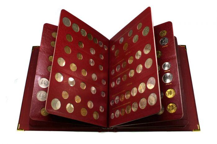 Альбомы для монет челябинск книга для хранения денег