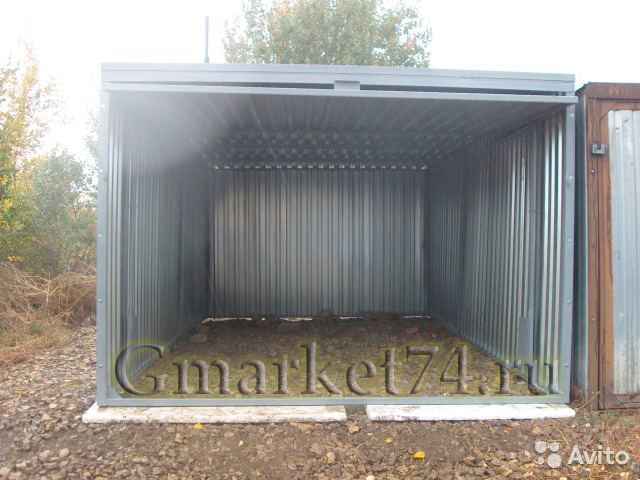 деревянный гараж под ключ