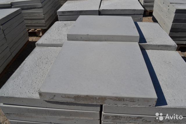 тонкие бетонные плиты